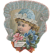 1884 Die Cut A & P Co. Grandmothers Pet