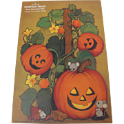 Hallmark Halloween Pumpkin Magic Decoration Book