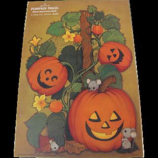 Hallmark Halloween Pumpkin Magic Decoration Book
