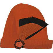 Halloween Crepe Paper Party Hat