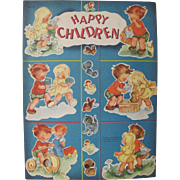 1949 Happy Children Book