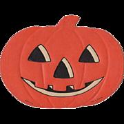 Small Embossed Halloween Happy Face JOL Die-Cut Luhrs