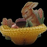 Easter Rabbit Honeycomb Basket Eggs