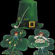 St Patricks Day Hallmark & Dennison Decorations
