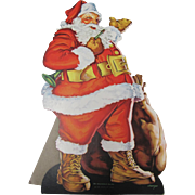 Large 1936 Santa Claus Self Standing By Whitman