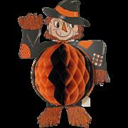 Halloween Scarecrow Honeycomb Center