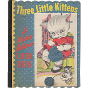 1941 Three Little Kittens Linen Book