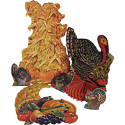 Six Thanksgiving Turkey Decorations