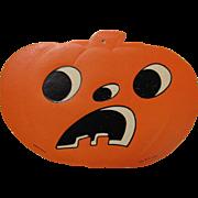 Halloween JOL Embossed Die Cut H.E. Luhrs USA #1