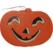 Halloween JOL Embossed Die Cut H.E. Luhrs USA #3