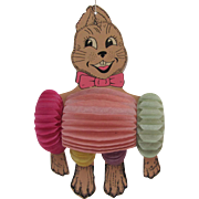 Dancing Honeycomb Easter Rabbit