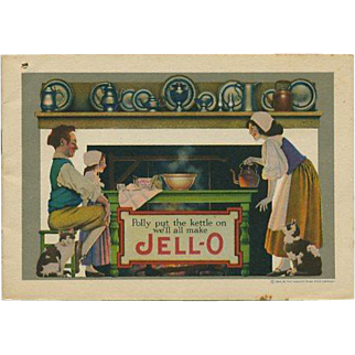 1924 Maxfield Parrish Jello Recipe Booklet