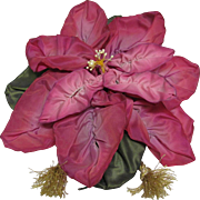 Large Rosy Pinks Ribbon Flower