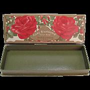 Rose Blossoms Toilet Soap Box Swift Co