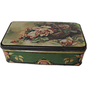 Thorne's Toffee Hinged Tin Basket of Roses