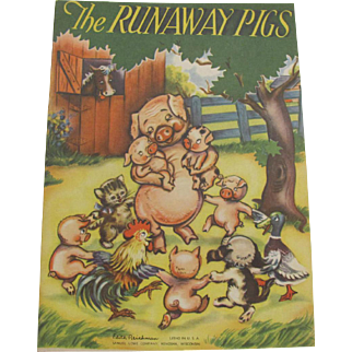 The Runaway Pigs Children's Book