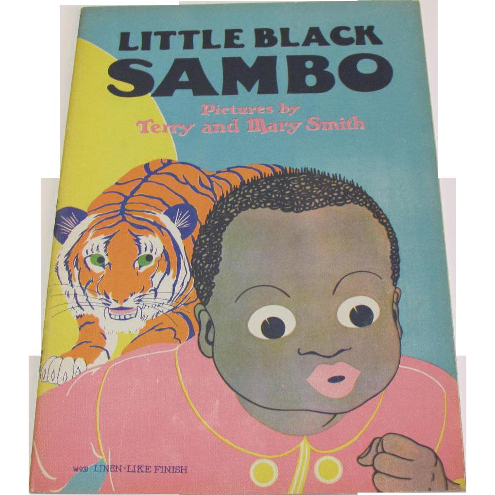 Little black sambo children s book from rubylane sold on ruby lane