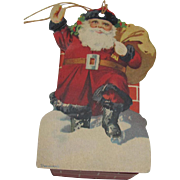 Small Santa Claus Candy Box Decoration