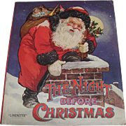 1947 The Night Before Christmas Linenette Book