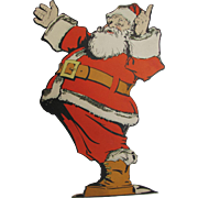 Jolly Santa Cutout Standup Display