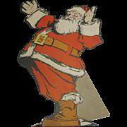 Jolly Santa Cutout Standup Display