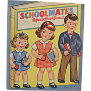 1947 Schoolmates Paper Dolls and Dresses