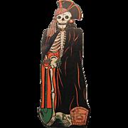 Halloween Embossed Pirate Skeleton Die Cut