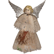 Small Angel Litho Die-Cut Cotton Batten Dress