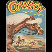 1949 Cowboy Paint Book