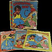 1942 Storyland Box Little Black Sambo Book