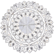 Large String Work Doily