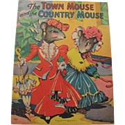 1942 Town & Country Mouse Children's Book