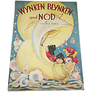 1941 Wynken, Blynken and Nod Children's Book by Whitman