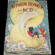 1941 Wynken, Blynken and Nod Children's Book by Whitman