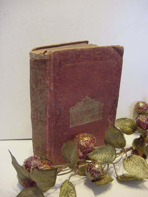 Antique 1853 Carl Krinken His Christmas Stocking Susan Warner Victorian Book Holiday & Character Building Tales