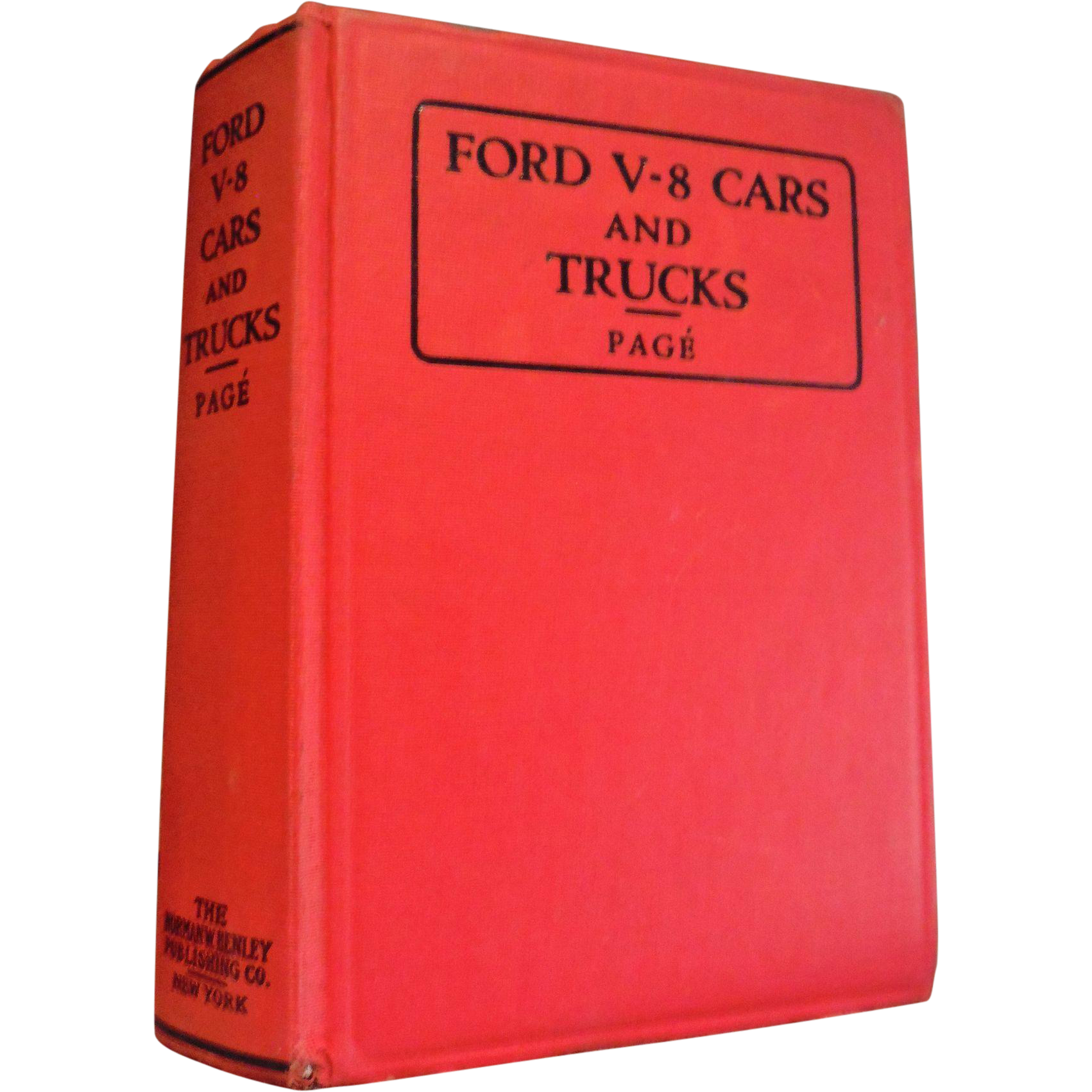 Vintage Book 1947 Ford V8 Cars & Trucks Construction Operation Repair Manual 1932 1933 1934 1935 1936 1937 1938 1939 1940 models