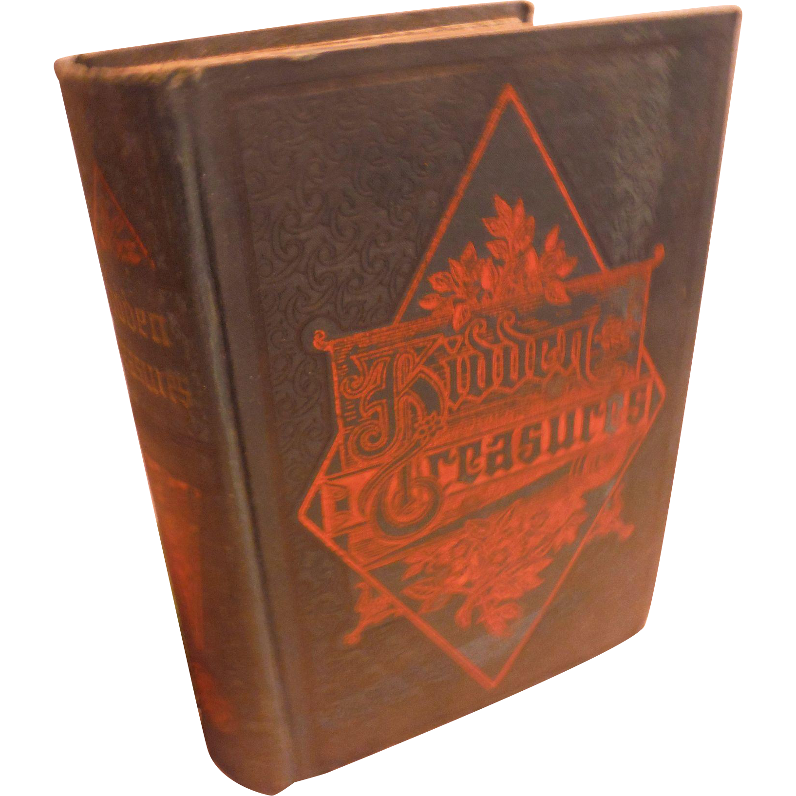 1889 Victorian Book Hidden Treasures Why Some Succeed & Others Fail Inspiring Short Biographies of Successful Americans Antique