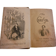 1855 The Candy Girl Maria Cheeseman American Sunday School Union Victorian Antique Book Illustrated Moral Character Street Child True Story