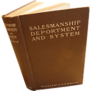 1907 The Principles of Salesmanship Deportment and System for Department Store Service Sales Retail Salesman Edwardian Antique Book