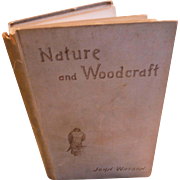 Nature and Woodcraft John Watson 1892 Antique England Victorian Book Illustrated by Lodge Animals Birds Naturalist British