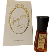 Vintage Jaqueline Perfume By Vivian Parfums In Box Full 1/2 ounce French Essential Oils
