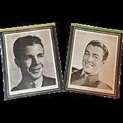 1940s Movie Star Notebook Stationery Tablet Salesman Sample Dick Powell Robert Taylor Margaret Lindsay Spanky McFarland Kay Francis Anita Louise Film Prints