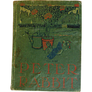 1904 The Tale Of Peter Rabbit Antique Book 31 Illustrations Color Plates Beatrix Potter