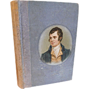 Antique Victorian Book The Poem and Letters of Robert Burns Poetry Book 1890s