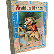 Antique Arabian Nights Entertainments & Co. Childrens Book Illustrated Victorian Aladdin Ali Baba
