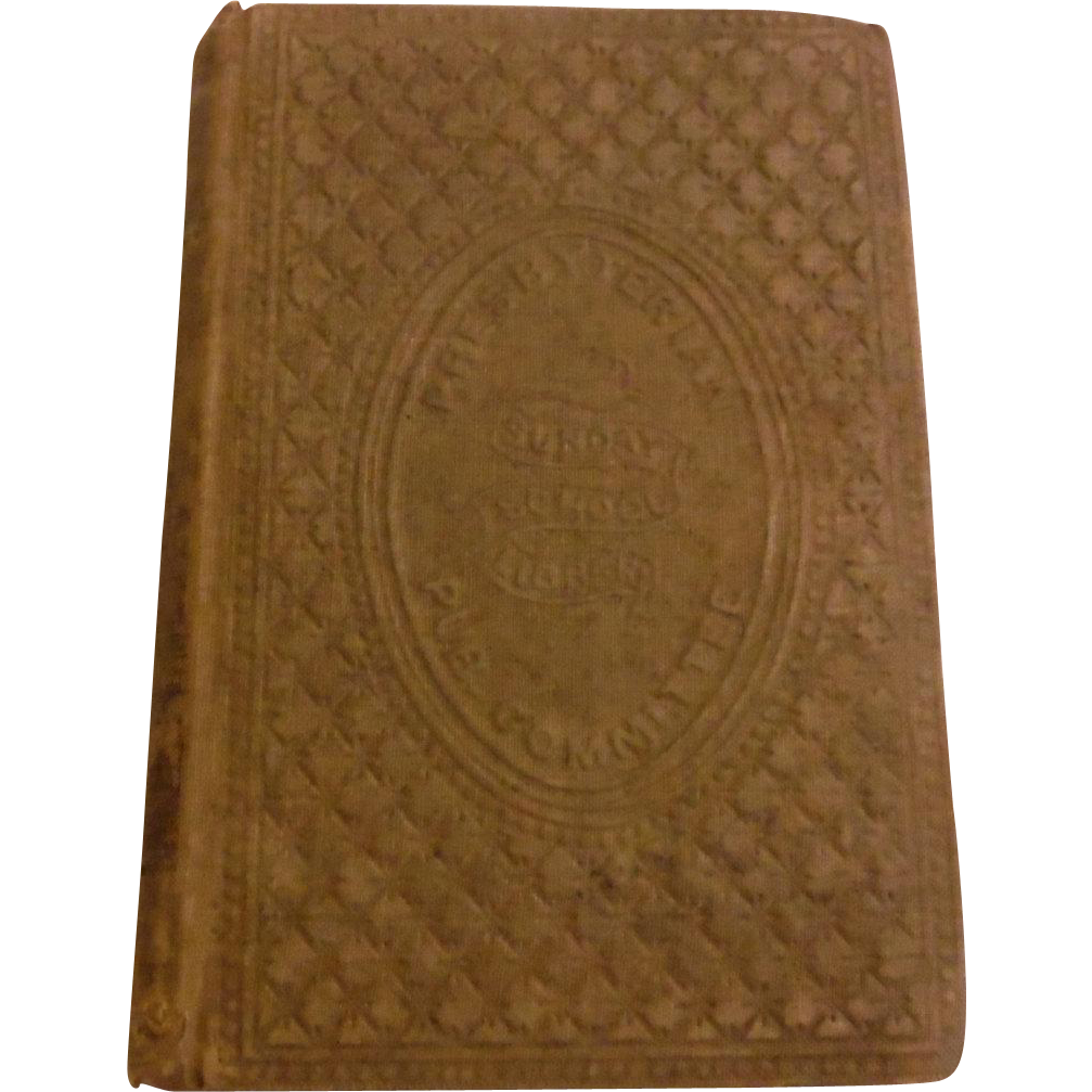 1856 Ellen And Sarah Or The Samplers & Other Tales Illustrated Victorian Book Antique Presbyterian Sunday School Publication Moral Character