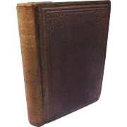 1864 Letters to the Joneses By Timothy Titcomb Antique Victorian Book Character Moral Building Business Practices Family Neighborly Duties