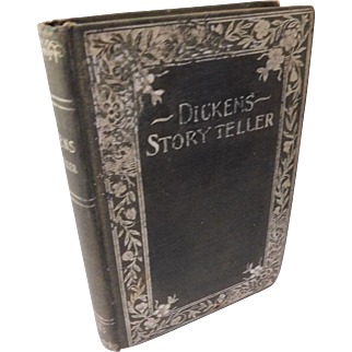 Victorian Dickens Story Teller Book Short Stories Antique Choice Stories From Charles Dickens' Household Words