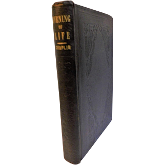1851 Evening of Life Or Light & Comfort Shadows of Declining Years Death Dying Old Age Elderly Inspiring Christian Prose Poetry Book Antique