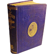 1872 The Nation Its Rulers and Institutions Outlines of the Government Victorian Antique History Book Constitution House Senate
